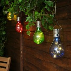 Hanging Solar Lamp Bulb with Clip Solar Rotatable Outdoor Garden Camping Hanging Light Lamp Bulb Solar Light Bulb, Solar Led Lights, Solar Lamp, Hanging Tree, Hanging Lights, Fairy Lights, Hanging Lamps, String Lights Outdoor, Outdoor Lighting