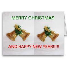Christmas Bell's Close up Christmas CARD
