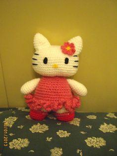 Amigurumi Gatita Kitty : Con lo aprendido de los puntos basicos de amigurumi de ...