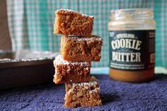 Gooey Cookie Butter Brown Sugar Bars