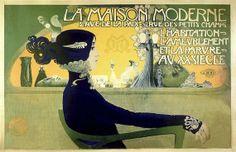 11x17 Vintage French Advertisements La Maison Moderne Poster. Art Nouveau. by J. Minot