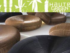 HauteGREEN 2007 Sneak Peek, Haute Green Sneak Peek, Molo Soft Furniture, Molo Paper Furniture, Papersoft, Cardboard Paper, Flat Pack, Collapsible Seat