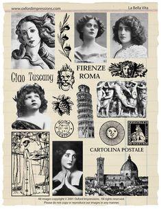 La Bella Vita Collection by Oxford Impressions.