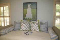 bedding + sugarboo art print