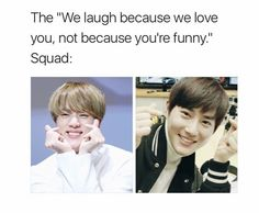 Best squad ever (Jin-BTS & Suho-EXO)