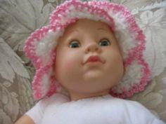Newborn hat baby girl boy bell amaryllis lily FLOWER by May22