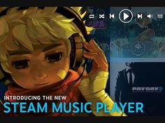 Steam ahora tiene su propio reproductor musical.
