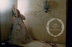 The origin of monsters  Love Magazine Spring / Summer 2012  Model: Kristen McMenamy  Photographer: Tim Walker  Styled by Katie Grand
