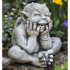Campania International Robin The Gargoyle Cast Stone Garden Statue - About Campania InternationalEstablished in 1984, Campania International's reputation has been built on quality original products and service. ...