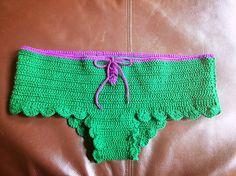 Disney Little Mermaid Inspired Handmade Crochet Swimsuit