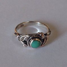 """Thanks for the kind words! ★★★★★ """"I ordered this for my granddaughter for getting straight A's on her report card and she just loves it and wears it all the time. They say if someone gives you turquoise, it will protect you. I was so very happy with the arrival time of my ring af"""