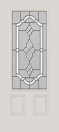 ODL decorative door glass: Tripoli door glass design
