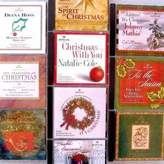 Hallmark Christmas Cd Lot x12 Jazz Cole Ross Murray Mathis Peabo CeCe Gill Oliva