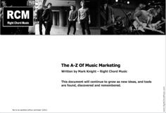 Free music marketing guide for unsigned bands