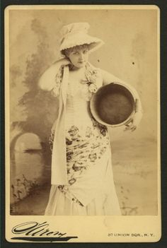 Lillian Russell in Patience #1882 #1880s