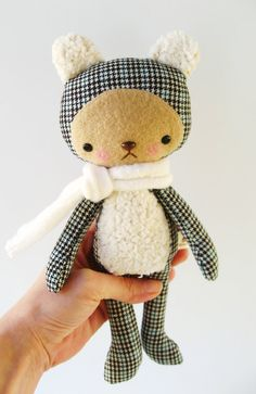 Harry, in upcycled wool. Cute                                                                                                                                                                                 More