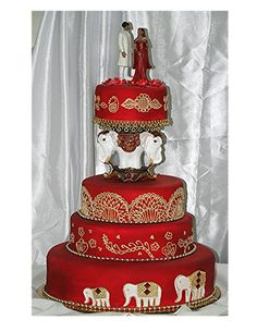 Indian Themed Wedding Cakes Amazing Ideas 4 On Wedding Cake Design Ideas Wedding Cake Red, Indian Wedding Cakes, Round Wedding Cakes, Themed Wedding Cakes, Amazing Wedding Cakes, Elegant Wedding Cakes, Wedding Cake Designs, Wedding Cupcakes, Wedding Cake Toppers