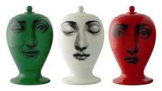 fornasetti vase fratelli d italia set of 3 limited edition