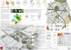 Visual Communication Design, Architecture Board, Urban Architecture, Urban Planning, Plaza, Design Reference, Urban Design, Layout, Architectural Presentation