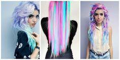 Cabello Arco Iris Pastel 2 #hairstyle #women #fashion #moda #mujeres Pelo Multicolor, Color Trends, Hair Color, Hair Styles, Iris, Beauty, Pastel, Women, Fashion