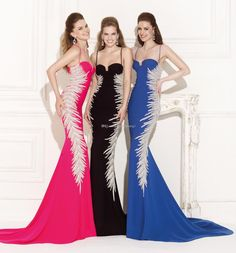 Wholesale Sexy Evening Dresses - Buy New Arrival 2015 Tarik Ediz Sexy Evening Dresses Mermaid Spaghetti Beaded Sweep Train Sheer Formal Prom Dress Miss Beauty Pageant Gown T4, $146.43 | DHgate