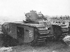 The Tank, Heavy, TOG 1 was a prototype British heavy tank produced in the early part of the Second World War in the expectation that battlefields might end up like those of the First World War and was designed so it could cross churned-up countryside and trenches. A single prototype was built but interest faded with the successful performance of another cross-country design, the Churchill tank, and the mobile war that was being fought.