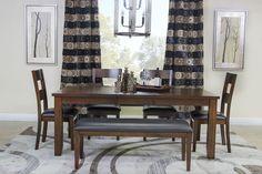 Mor Furniture for Less: The Alpine Ridge Dining Room | Mor Furniture for Less