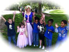 Invite Rapunzel to your child's birthday party! www.DreamComeTrueParty.com