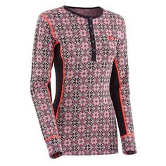 Rose LS thermoshirt MAUVE- paars dames