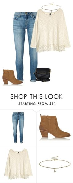 """""""Untitled #1789"""" by elephant10 ❤ liked on Polyvore featuring Current/Elliott, Tory Burch, H&M, Miss Selfridge and Michael Kors"""