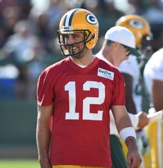 Aaron Rodgers - Packers Training Camp 2015