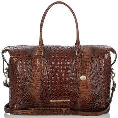 1139922630c6 Duxbury Weekender - Pecan Melbourne Brahmin Bags