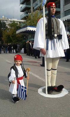 October 28, 2015 ~ National Day celebrations in Athens (photo by Giorgos Giorgiadis)