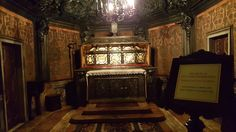 """Milan 20- """"Reliquary"""" is occasionally fancy-speak for """"dead guy in a box"""" when the body is considered a holy relic."""