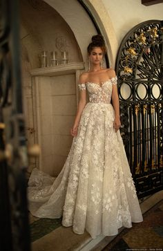 Miami wedding dress - berta spring 2019 bridal off the shoulder sweetheart neckline full embellishment romantic a line wedding dress open back chapel train mv Berta Spring 2019 Wedding Dresses Wedding Inspirasi w Dream Wedding Dresses, Bridal Dresses, Bridesmaid Dresses, Prom Dresses, Spring Dresses, Wedding Dresses Berta, Spring Wedding Dresses, Gown Wedding, Wedding Dress Sparkle