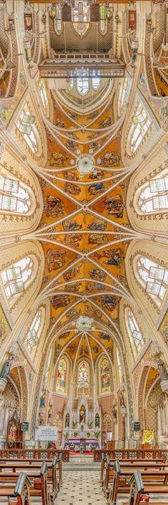 Iglesia del Santo Nombre, Mumbai, India - Nunca Viste Techos De Iglesias Tan Espectaculares Como Estos