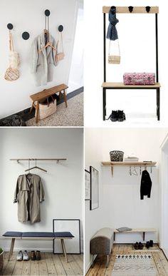 6 idées pour aménager une petite entrée | elephant in the room