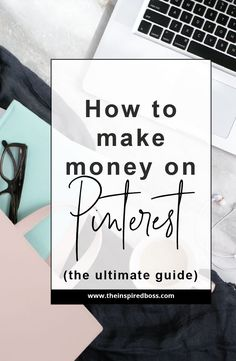 Here are the steps that I've taken to start earning money directly from Pinterest! By using affiliate links, you can send potential customers directly to your products!