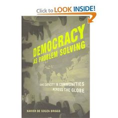 Democracy as Problem Solving