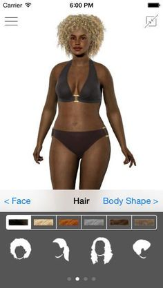 Try on different swim suits. Finally available on the App store.  The first weight loss simulator that models your body so you can see your future healthy self.  Now for Free!