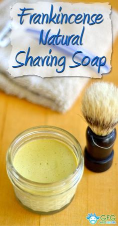 Frankincense Natural Homemade Shaving Soap Recipe http://www.grassfedgirl.com/frankincense-natural-homemade-shaving-soap-recipe/