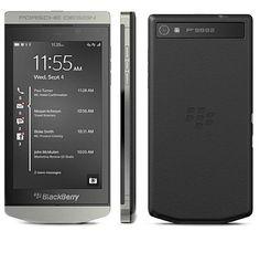 5e78e763724 BlackBerry Porsche Design P9982 Silver UNLOCKED FATORY no warranty