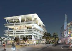 Herzog and De Meuron, 111 Lincoln Road, Miami, Fl