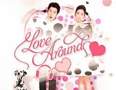 """""""LOVE AROUND"""" is a Taiwanese romantic drama series that reunites George Hu and Annie Chen, who co-starred in the 2012 drama """"Love, Now."""" ~ Synopsis: By a chance encounter Radio DJ Liang Xiao Shu meets Zhou Zhen, the son of a former gangster. Both unlucky in love and on the rebound, use their heartbreak to console each other. As their friendship turns to love, they come up against parental disapproval. 