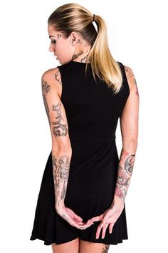 Third Eye Skater Dress [B]