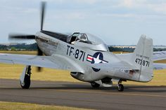 North American TF-51D Mustang by Daniel-Wales-Images