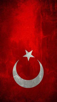 720X1280 Piksel Çözünürlükte Türk Bayrağı Resimleri