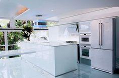 Já conhecem os eletrodomésticos de vidro branco