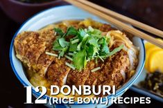 Popular donburi Japanese rice bowl recipes. From gyudon, katsudon, tendon to okakodon, you will have fun making these delicious rice bowls at home.