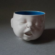 Baby Head Cup w/Nose Ring